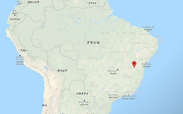 モンテズマの地図