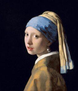真珠の耳飾りの少女(青いターバンの少女)