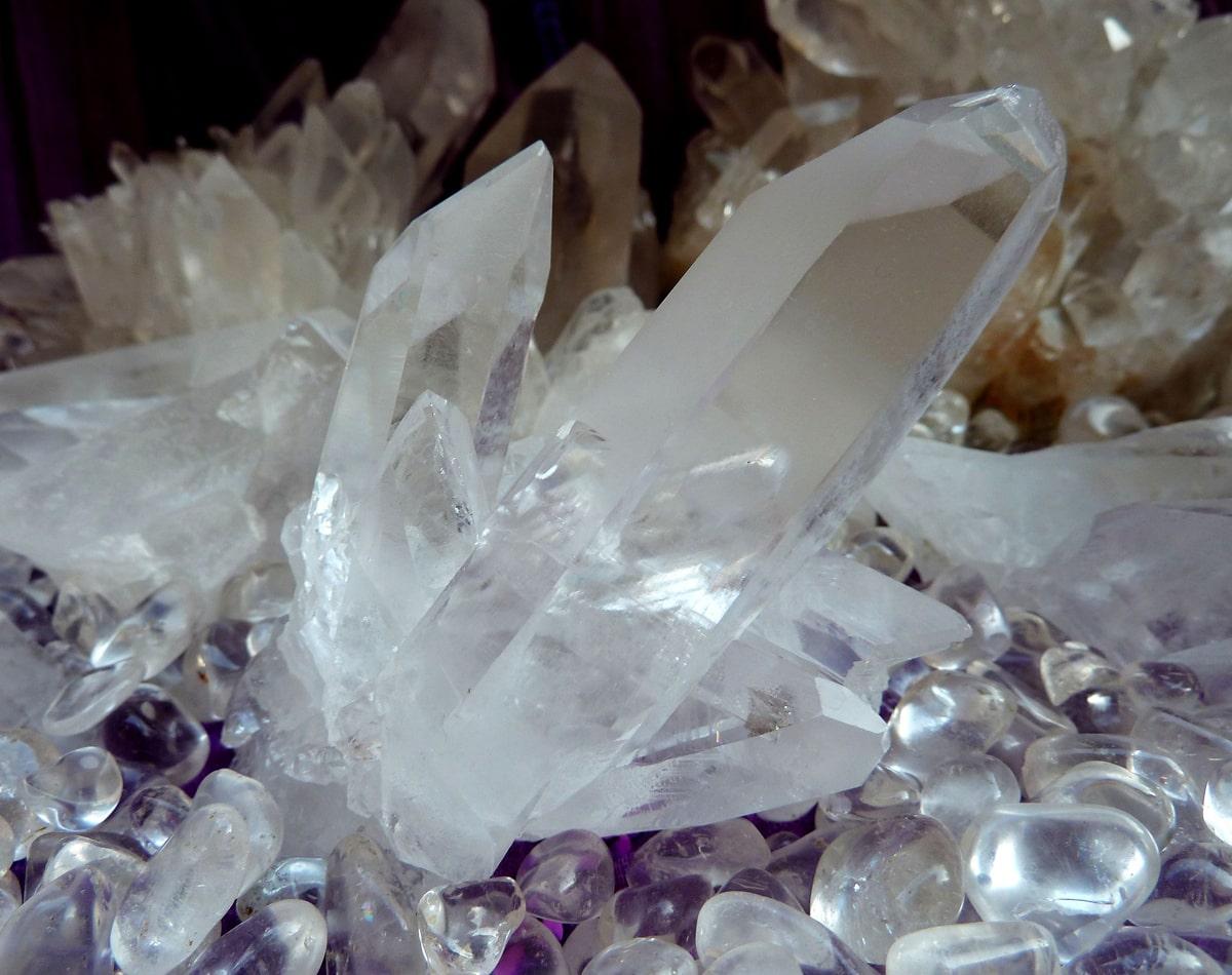 水晶(ブラジル産天然水晶)