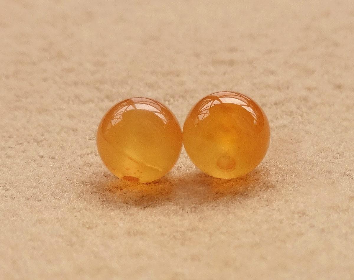 オレンジカルセドニー(天然色)